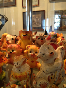 At the marzipan museum.