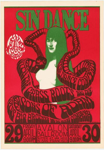 Sin Dance, Avalon Ballroom, 1966