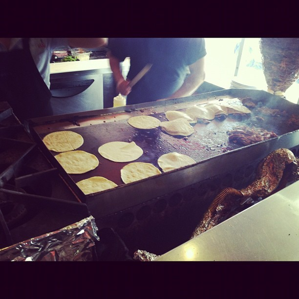 I'm having tacos from El Camino Real. I know you're jealous! (Taken with Instagram)