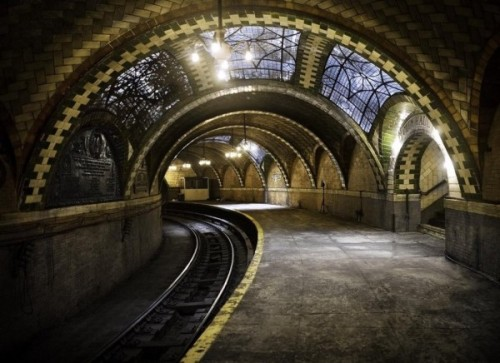 kkanakos:  (via Flavorwire » 9 of the Coolest Secret Subway Stations in the World) Pretty awesome… I've heard of the first one before, but the other ones are pretty great as well.  The three in New York City are all fascinating, ESPECIALLY the South 4th Street station graffiti in Williamsburg.