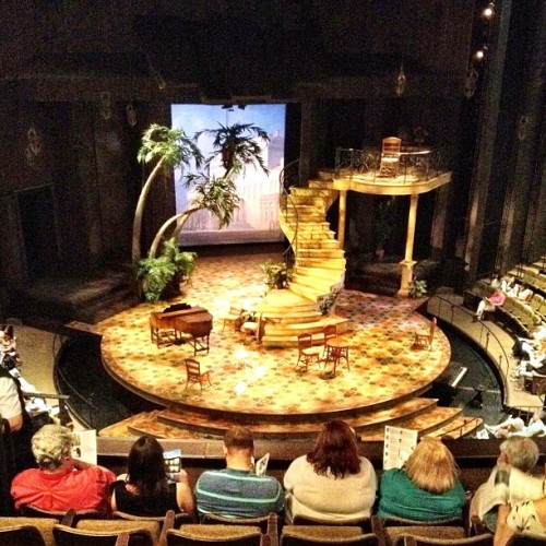 Great seats! Great play! #MuchAdoAboutNothing  (Taken with Instagram at Stratford Shakespeare Festival)