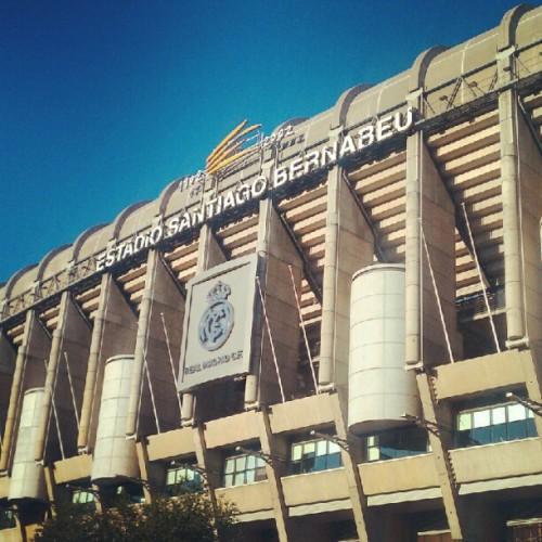Bernabeu #Madrid #Spain (Taken with Instagram at Estadio Santiago Bernabéu)