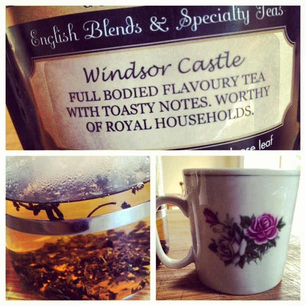 literaryvacuum:  Making a cuppa. Trying my new tea from Niagara on the Lake. #victoriasteaandcoffee #instagram #tea # (Taken with Instagram)    I really want to go to Niagara on the Lake
