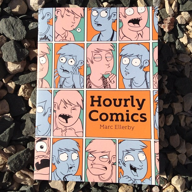 A collection of my Hourly Comics is now available for you to purchase if you'd like to do such a thing. Step this way.