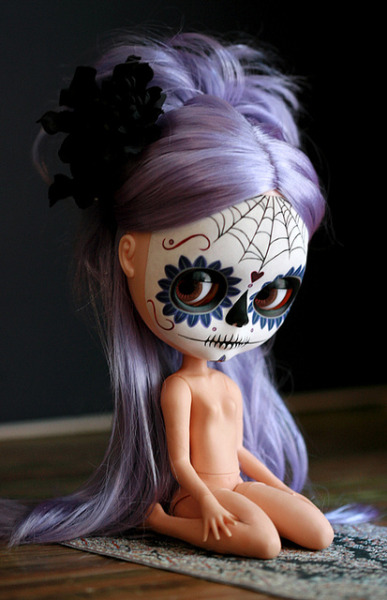 maribatistello:  m calavera 008 by Kittytoes on Flickr.
