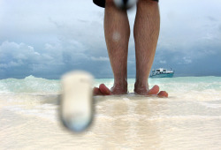 Happy Sunny day in Maldives. Ocean, ship and feet in the water :) on Flickr.