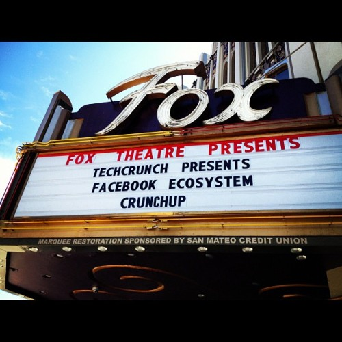 Getting ready for the #crunchup w/ @aislefinder (Taken with Instagram at Fox Theatre)