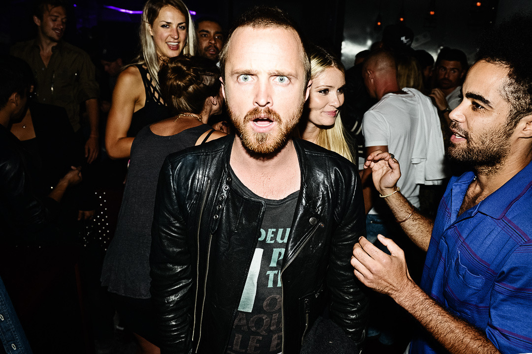 Yo Bitch! Breaking bad with Aaron Paul at the NYLON Magazine party hosted by Ashley Greene earlier this week. Check out more of my photos from the party at TheCobrasnake.com.