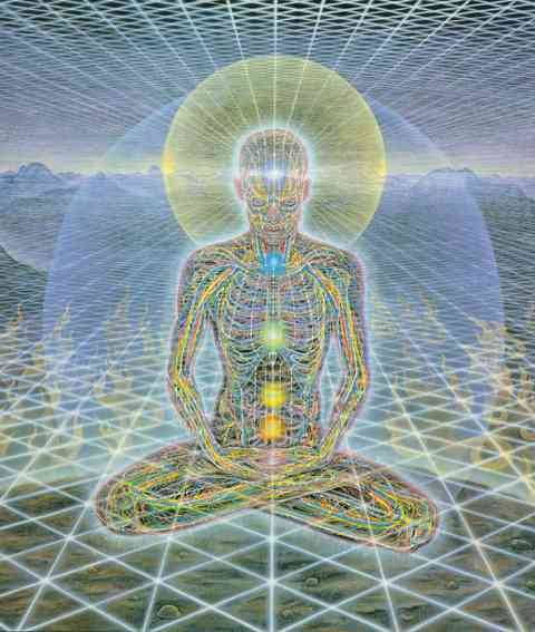 Divine consciousness…. Theologue by Alex Grey