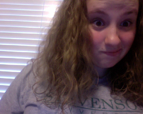My hair is a curly mess and I still have so much to do but T-MINUS 16 HOURS UNTIL I LEAVE FOR THE BEACH.