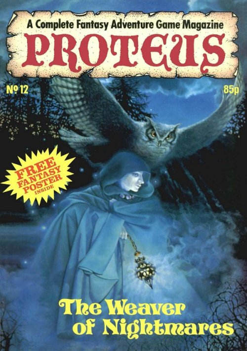 PROTEUS 12 - The Weaver of Nightmares. Judy Mitchell, 1986.