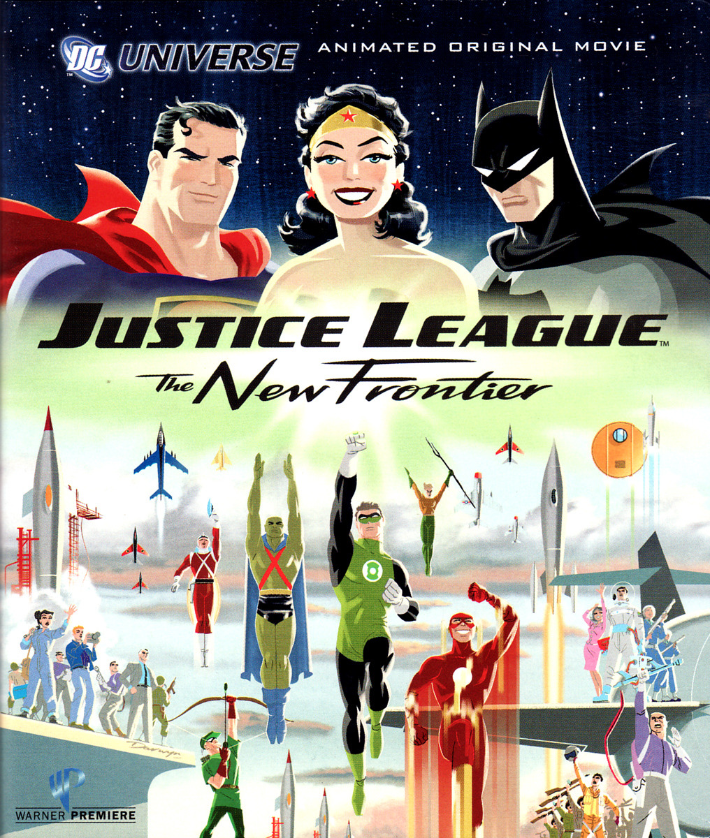Title: Justice League: The New Frontier (2008) Synopsis: An evil creature bent on destroying mankind must be stopped by individuals with the powers to protect the innocent. Why you should like it: It's f—kin' Justice League. The Flash and Green Lantern kind of take the cake here above the rest of the cast, but that's alright. It works. Availability: DVD, Blu-Ray, Digital Download.