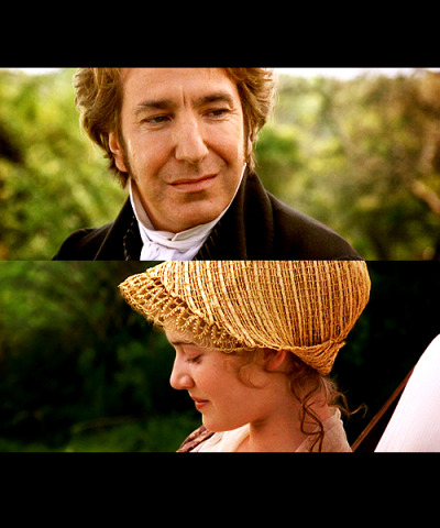 Sense & Sensibility - Kate Winslet & Alan Rickman  ahhh, people who steal the spotlight