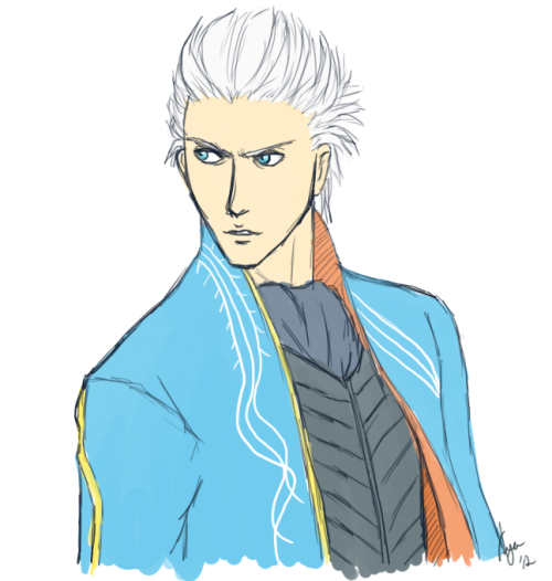 30 Day Devil may cry drawing challenge: 4. Vergil