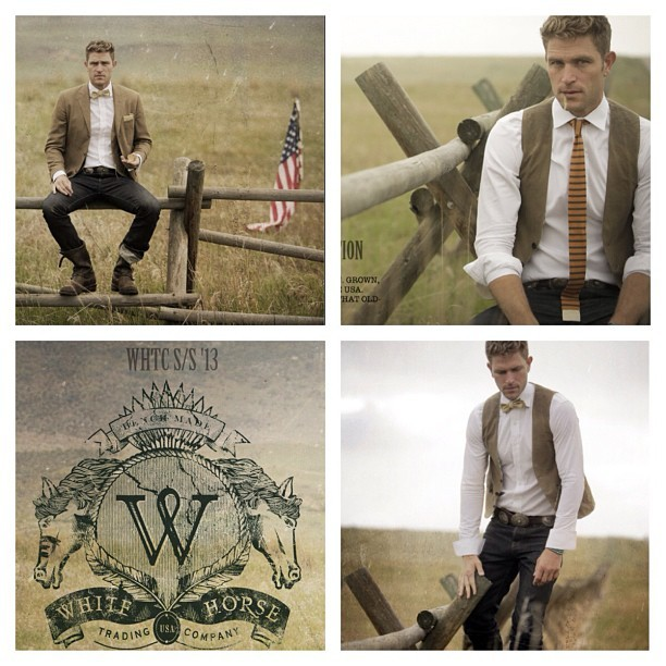 White Horse Trading Co. recently shot their Spring 2013 lookbook with our Stantons. Thanks Ryan for sharing it with us. #rogueterritory (Taken with Instagram)