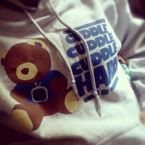 avgyisi:  Just got my new #hoodie by #dormtainment ! THANK YOU SAPPHIRA!!!! (Taken with Instagram)