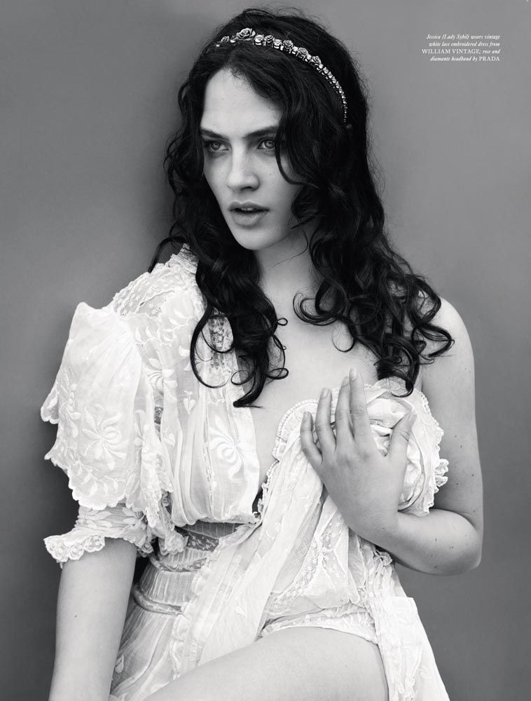 Jessica Brown-Findlay photographed by Mert and Marcus for Love #8, Fall/Winter 2012 Excuse me while I swoon at this picture of Lady Sybil