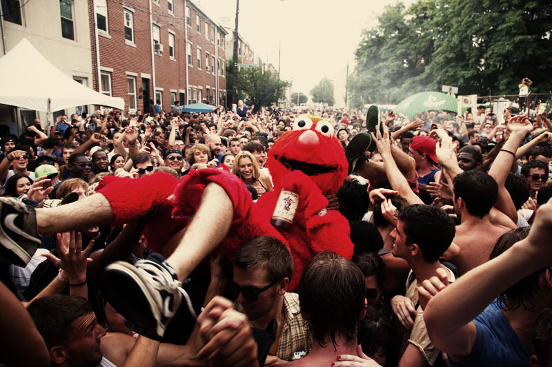 Mad Decent Block Party. Philadelphia 2010.