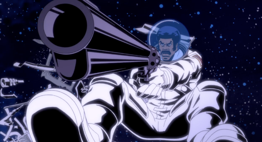 Even in space BD's packin' heat! Check out an all new Black Dynamite. Sunday at 11:30P on Adult Swim