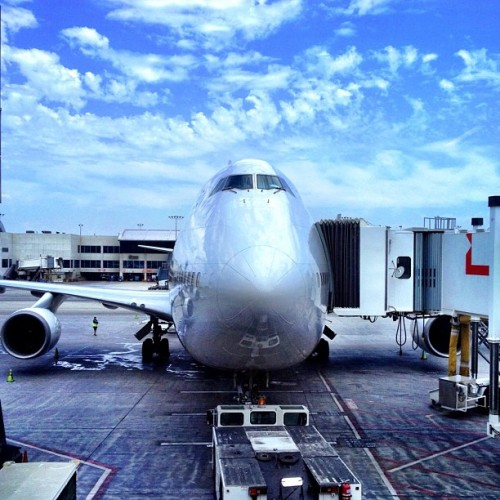 Fatherland-bound (Taken with Instagram at Los Angeles International Airport (LAX))