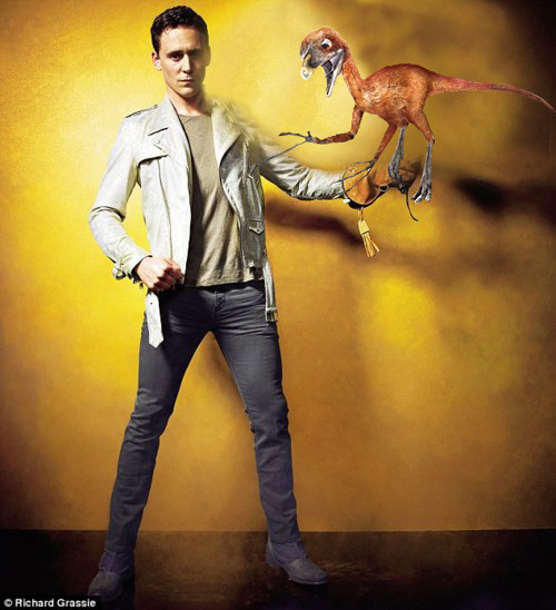 Hiddles. Epidendrosaurus trainer, extraordinaire.  for @scifiandchai
