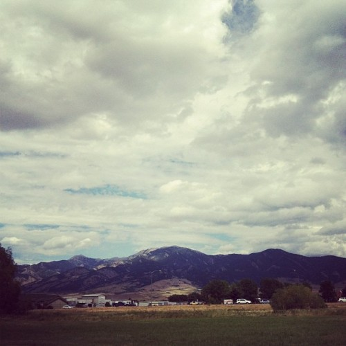 Afternoon off in Bozeman, Montana. (Taken with Instagram)