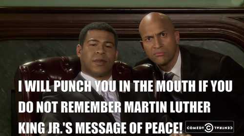 comedycentral:  Click the image to watch all of the original Obama and Luther videos. Key & Peele Season Two premieres this fall.