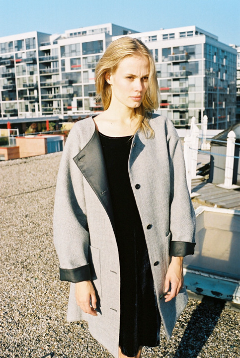 (via Rita Liefhebber — Wool Reversible Long Coat)