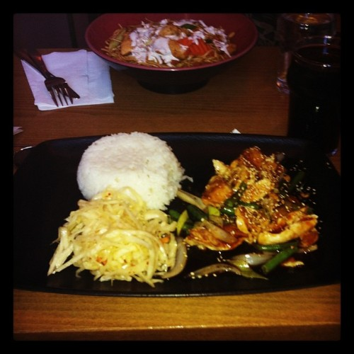 Asian food 😍 #delicious#food#asian#restaurant#gbg#city#dinner#cozy#sweden  (Taken with Instagram)