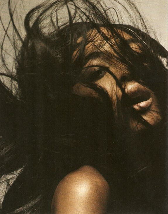 """Best of British"": Jourdan Dunn by Solve Sundsbo for i-D March 2009"