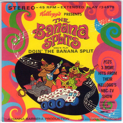 The Banana Splits EP - Kellogg's mail- in premium (1969)