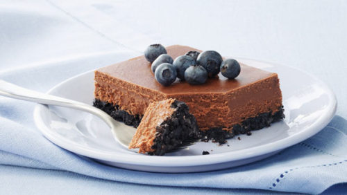 Double Chocolate Cheesecake with recipe (link)