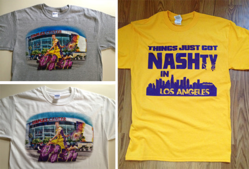 Did you get a Steve Nash LA shirt yet?!? Check out these and TONS of other LA/Kobe designs NOW ON SALE at: www.duceTWO.com/shop
