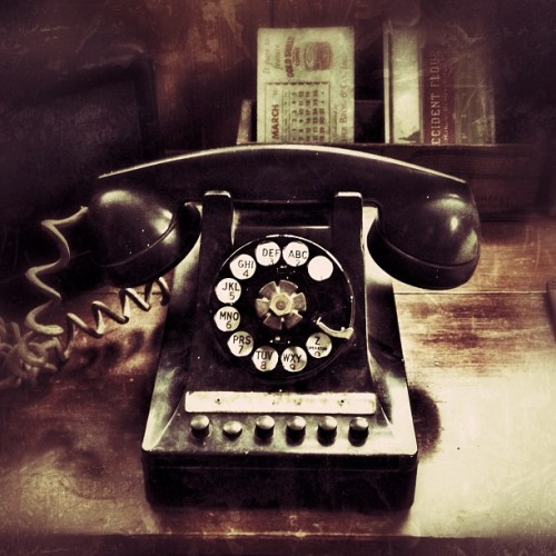 Old iPhone (Taken with Instagram)