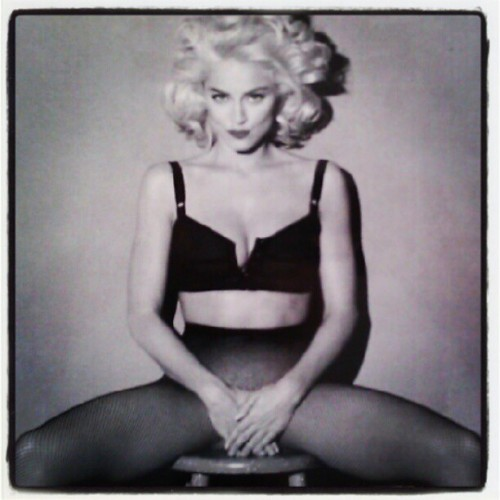 Vintage #Madonna My all time favorite photo of the Queen of Pop (Taken with Instagram)