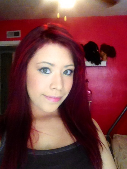 Finally did my hair red! Didn't come out too bad