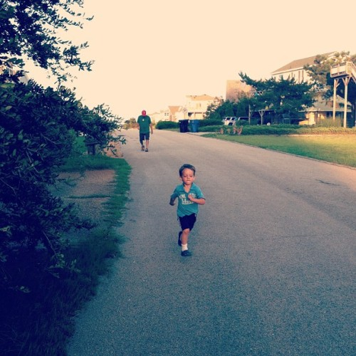Running for ice cream (Taken with Instagram)