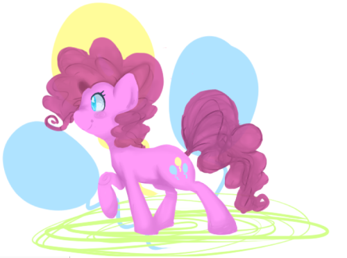 Hello I drew a Pinkie Pie.Pinkie Pie is great.