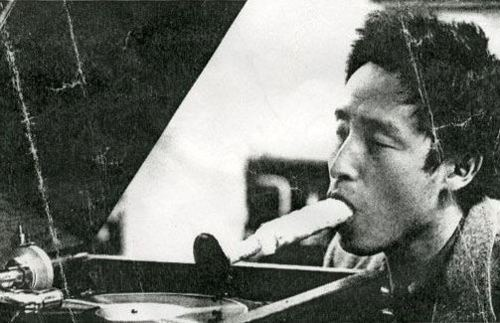 shupface:  Listening to Music through the Mouth - Nam June Paik & Wolf Vostell