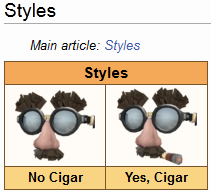 smeghenegham:  Just browsing the TF2 wiki when I see a new item has two styles. God freaking damn, I laughed more than I should've at that.  What a nice treat for Marx Brothers fans! Will have to look out for it.