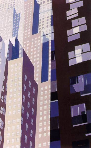 cavetocanvas:  Charles Sheeler, Windows, c. 1952