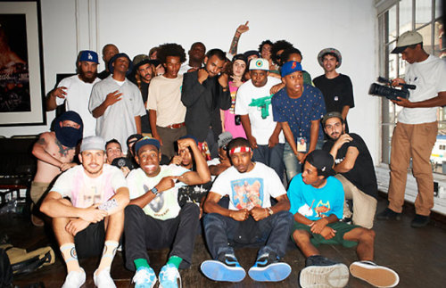 hype-hop:  Terry's Diary - OFWGKTA in NYC