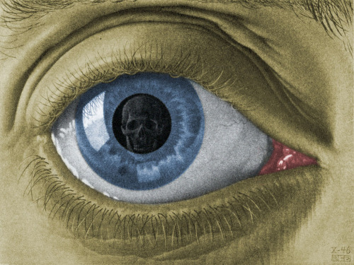 Eye Color M.C. Escher