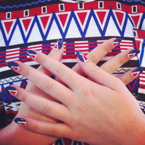 nailinghollywood:  @MPNails gives 4th of July a run for it's money…