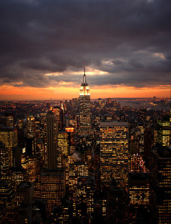 New York - top of the rock by Susann Heimann on Flickr.