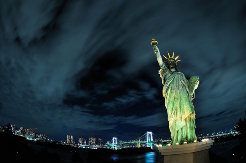 Liberty in Tokyo by hidesax on Flickr.