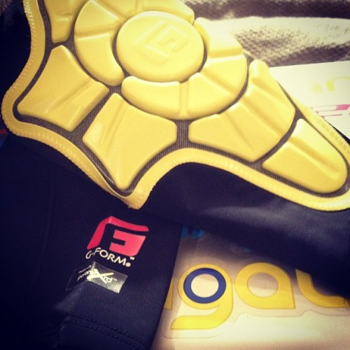 G-Form Elbows! Can't wait to use these badboys @g-form #longboarding #pads #gform (Taken with Instagram)