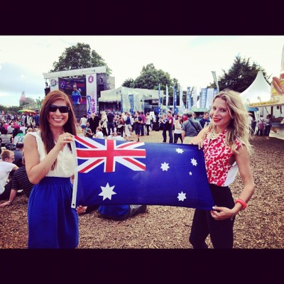 @London2012 with my #Australia #mate !!! Cheering for #oz and #Canada #Olympics  (Taken with Instagram at London 2012 Olympic Park)