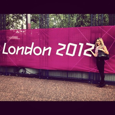 I have arrived @London2012 @R4L #GOcanadaGO!   (Taken with Instagram at London 2012 Olympic Park)