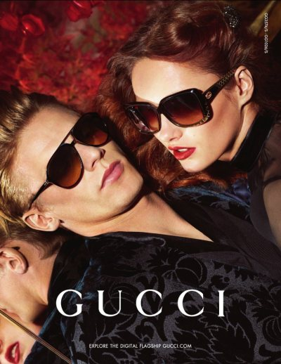 impsychotic:  Gucci Fall 2012 Ad. Campaign